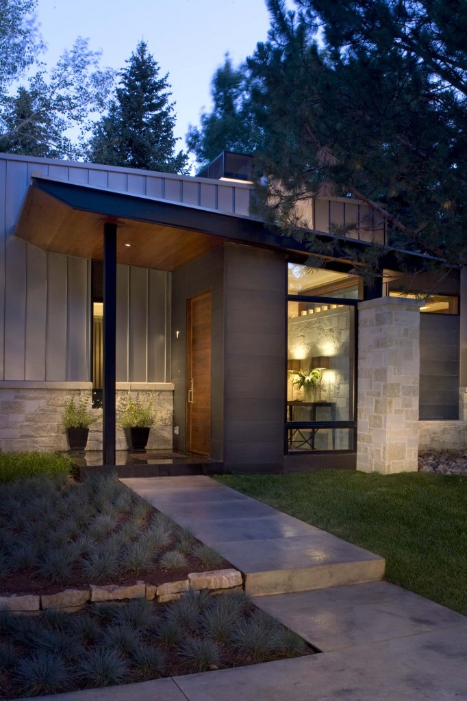 25 Modern Home Design With Wood Panel Wall: 25 Midcentury Exterior Design Ideas