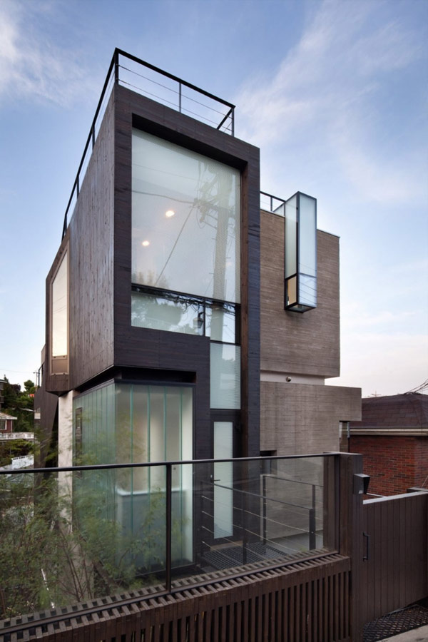 Modern Exterior Design in South Korea