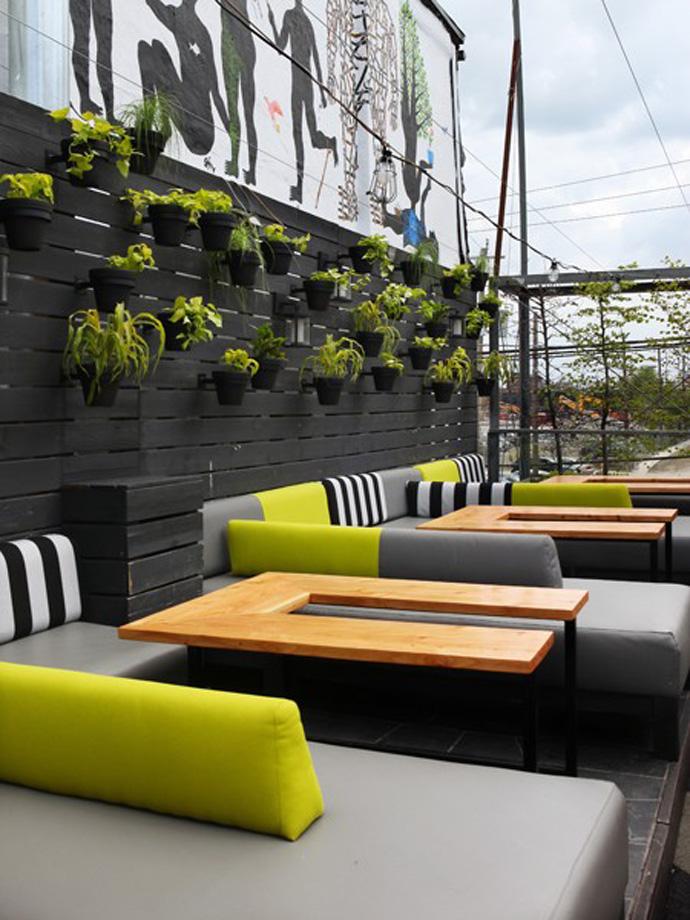 Modern Industrial Outdoor Restaurant Design