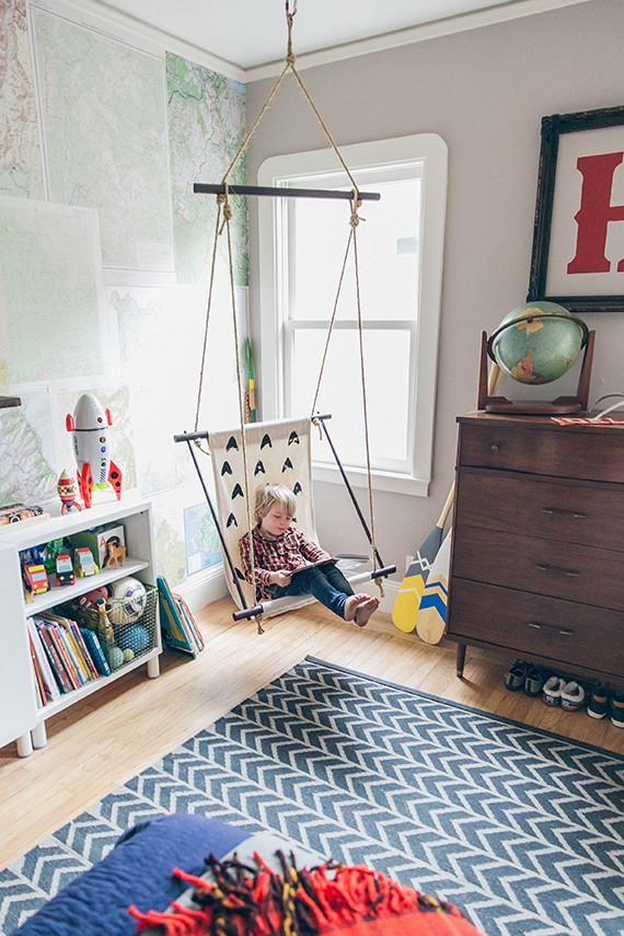 Modern Midcentury Kids Room Design