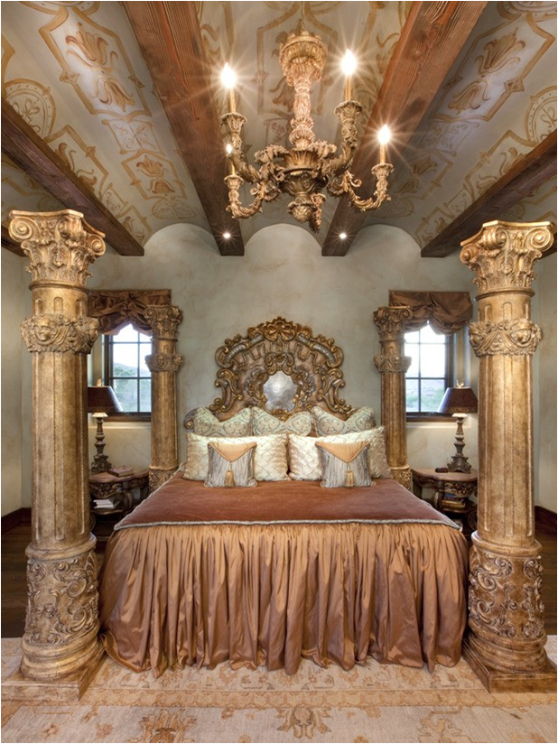 Old World Southwestern Bedroom Design