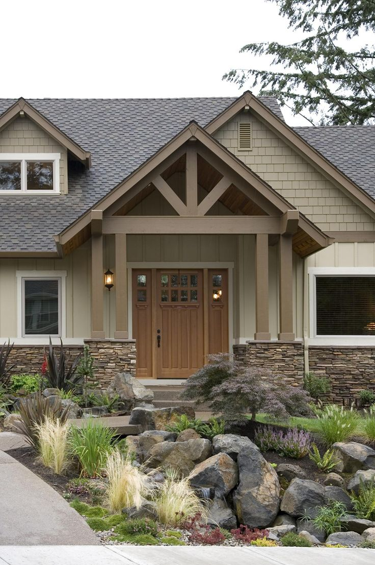 Ranch Style Craftsman Outdoor Design