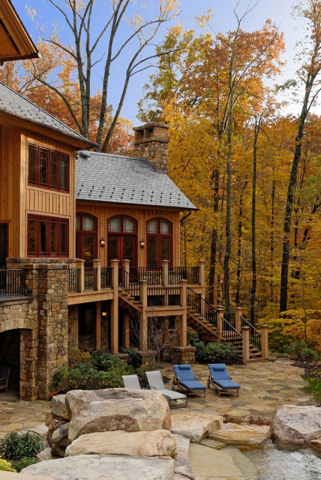 Rustic Exterior Home Designs
