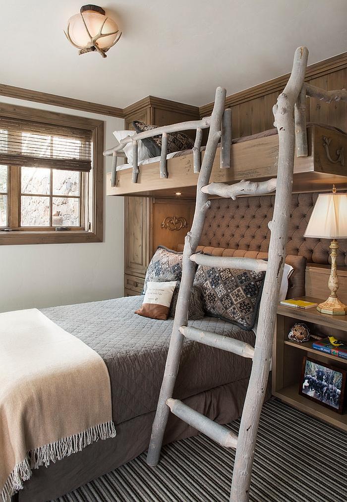 Rustic Kids' Bedrooms Creative Design