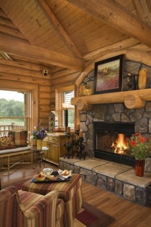 25 Rustic Living Room Design Ideas