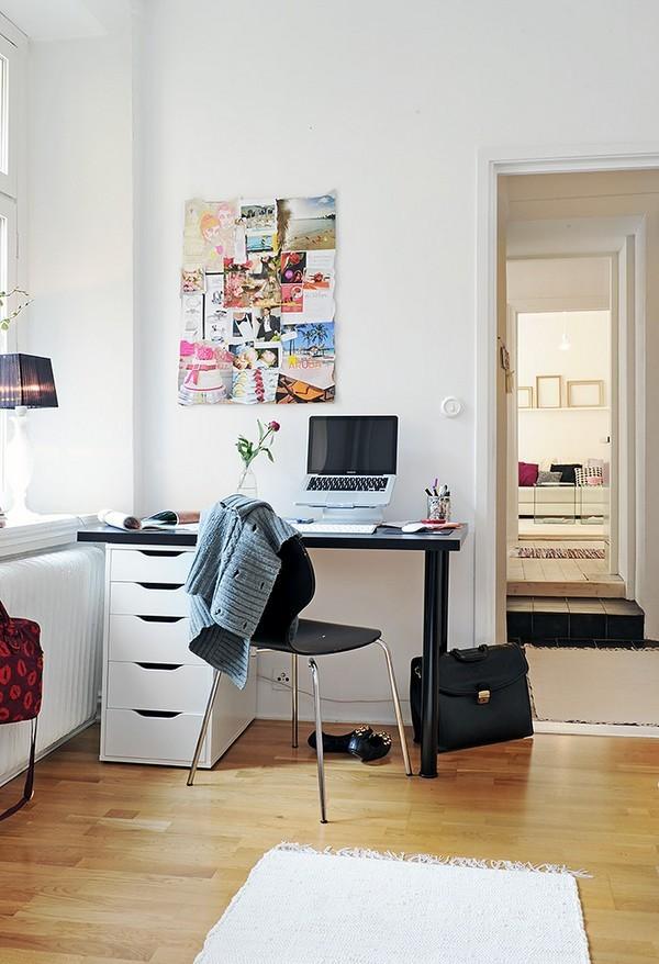 Scandinavian style Home Office Design