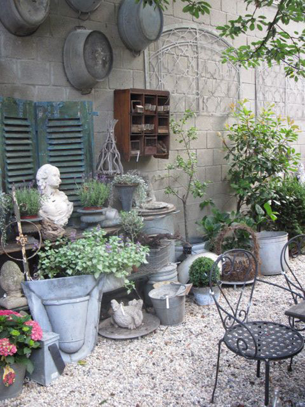 Home Design Ideas Decorating Gardening: 25 Shabby-Chic Style Outdoor Design Ideas