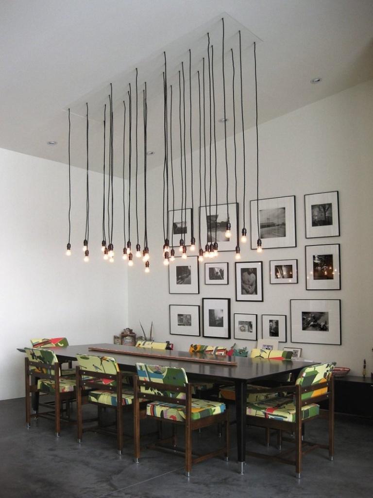 Sharp Industrial Dining Room Design