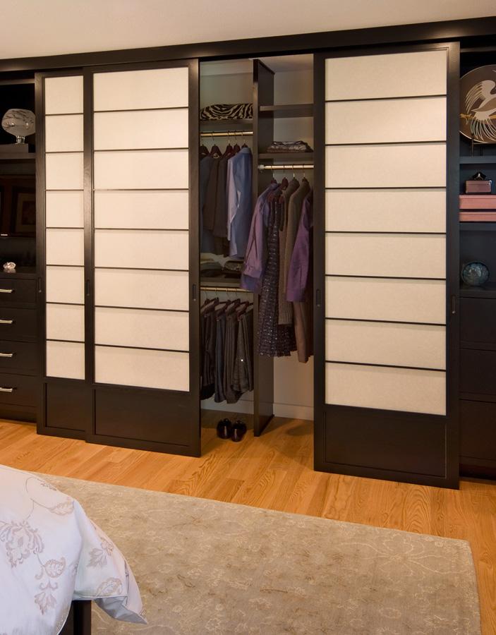 Shoji Asian Closet Design