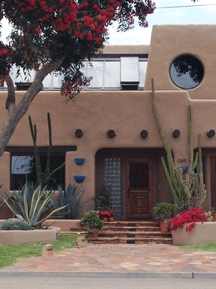 Southwestern Exterior Design Paint Colors