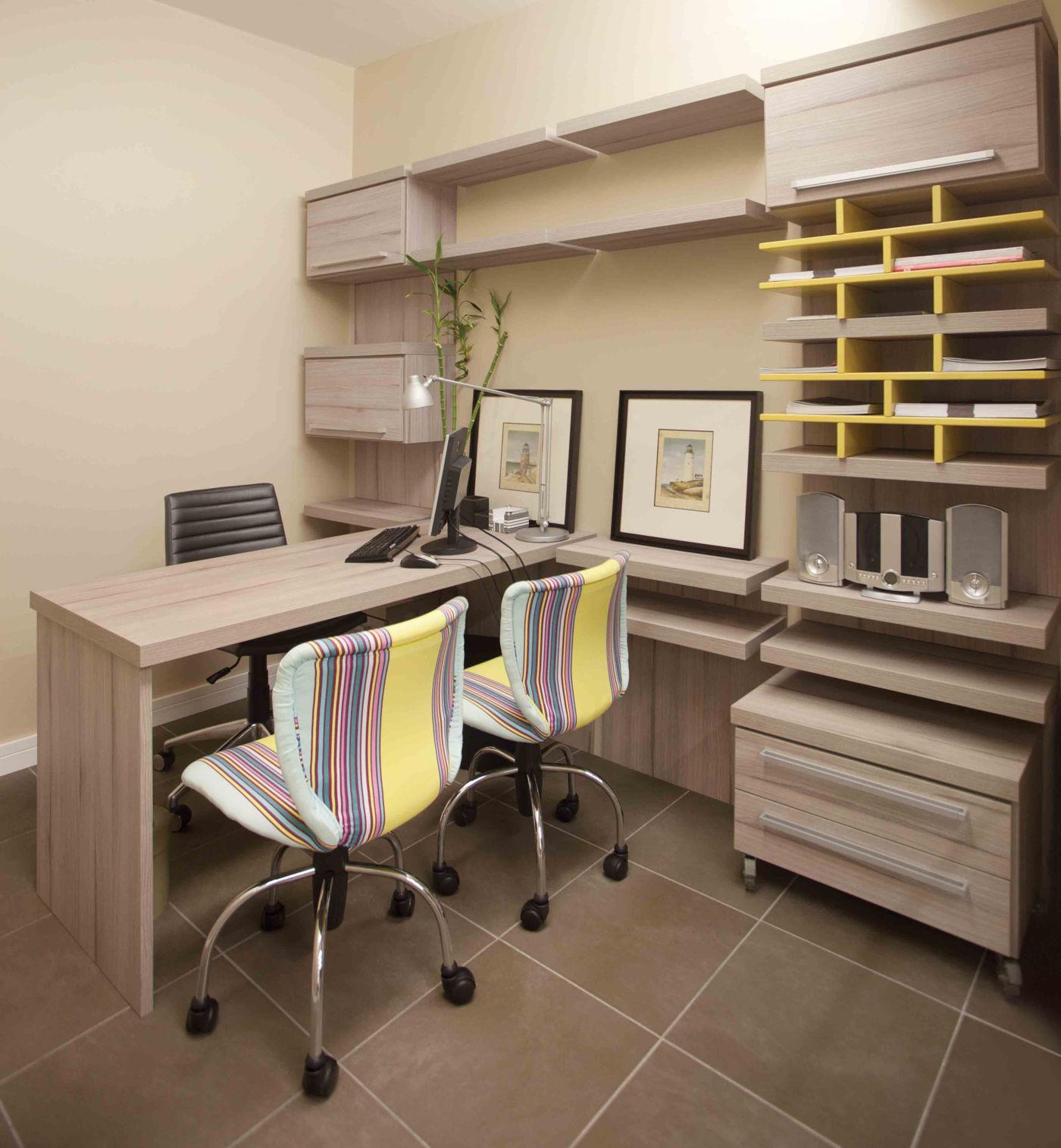 Southwestern Home Office Design