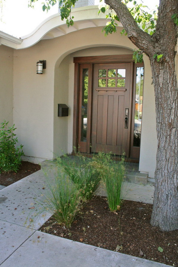 Southwestern Outdoor Patio Door Design