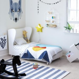 20 Beautiful Beach Style Kids Room Design Ideas