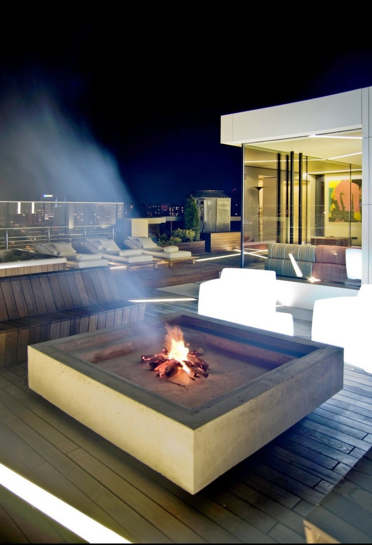 Stunning Industrial Outdoor Design