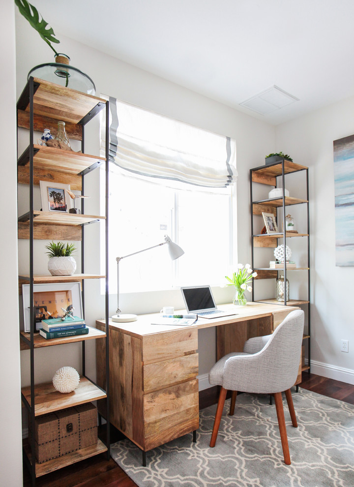 25 Shabby Chic Style Home Office Design Ideas Decoration