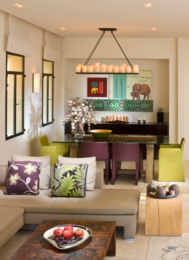 Stunning Tropical Living Room Design