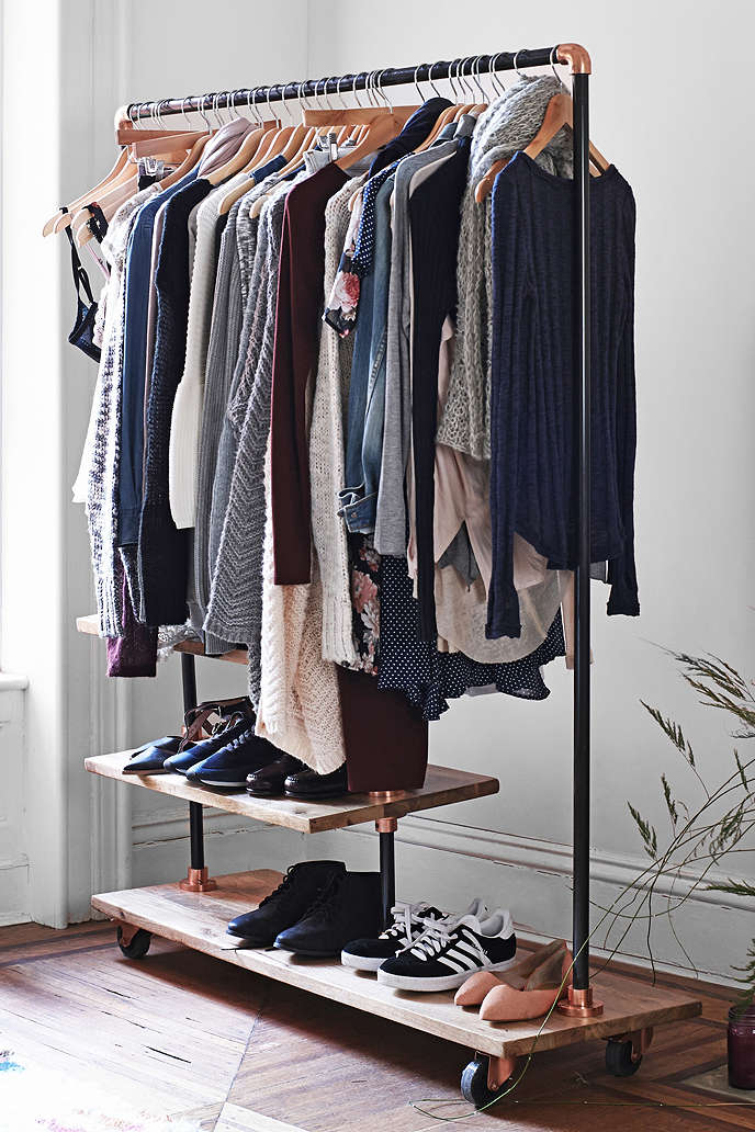 Stylish Industrial Closet Design Ideas