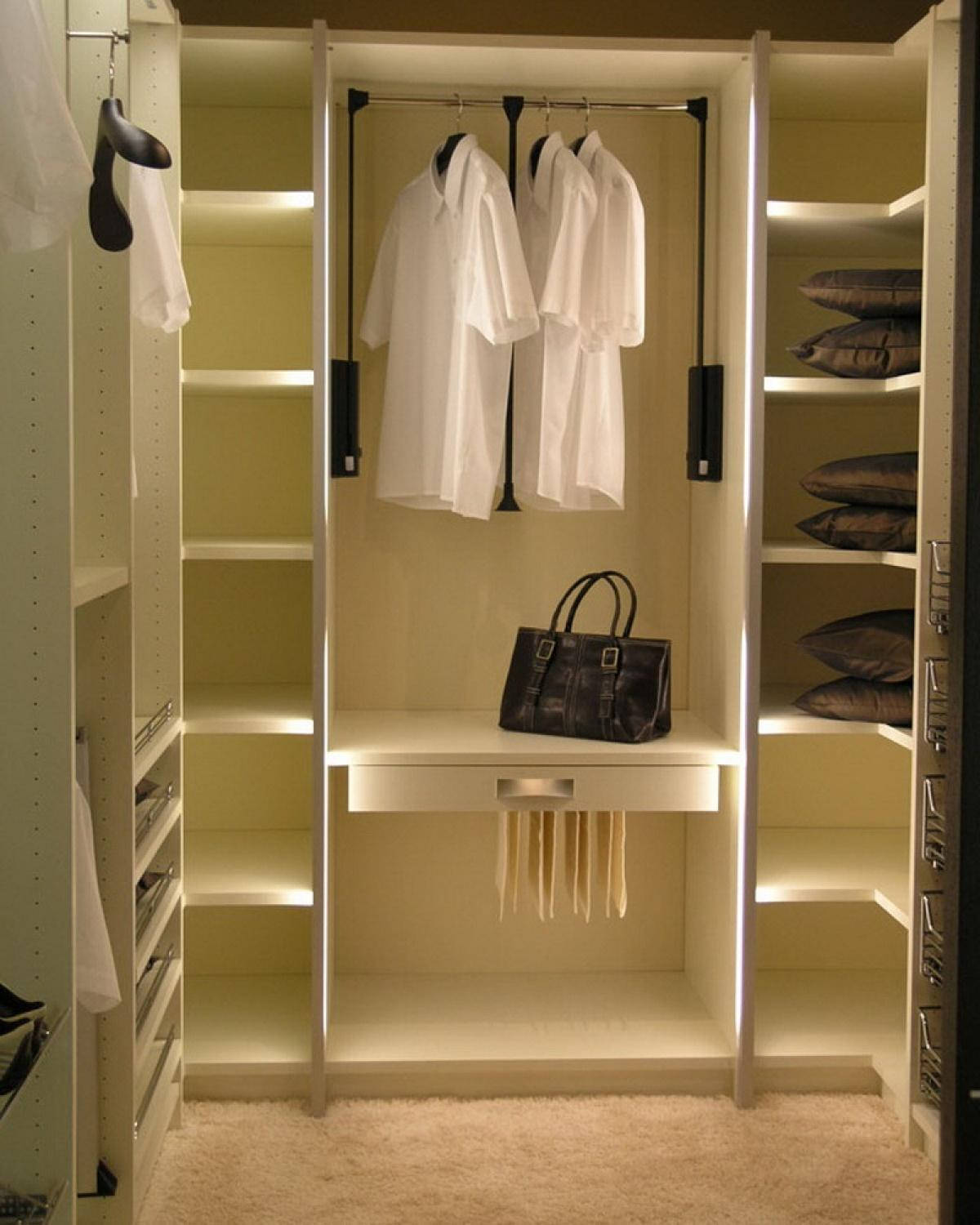 Stylish Industrial Closet Design