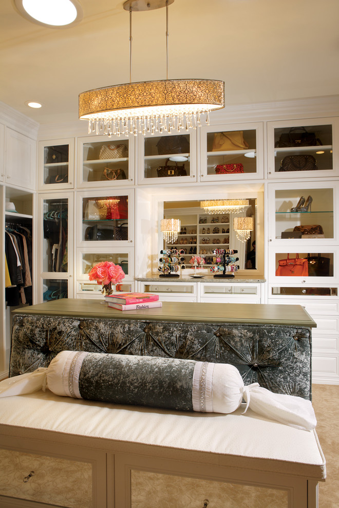 Superb Transitional Closet Design