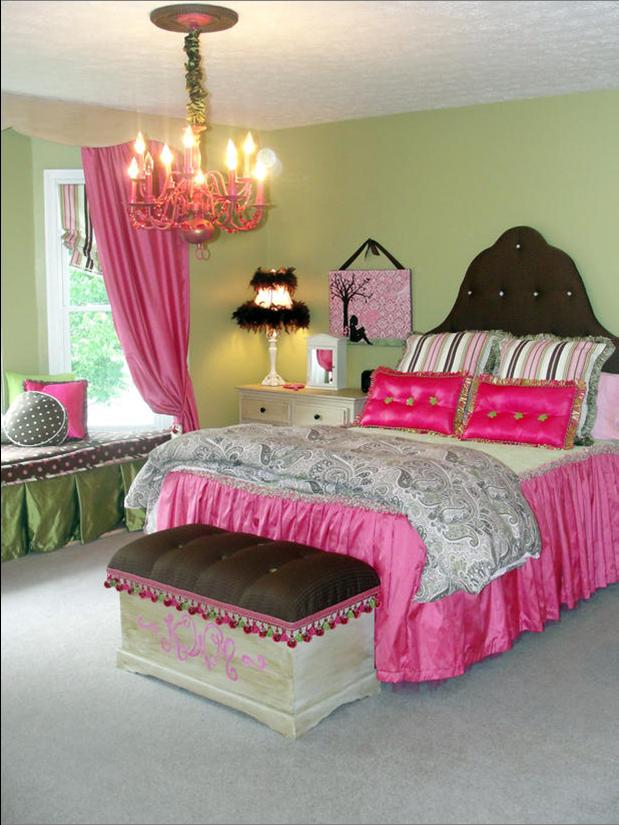 Teen Girl Southwestern Kids Room Design