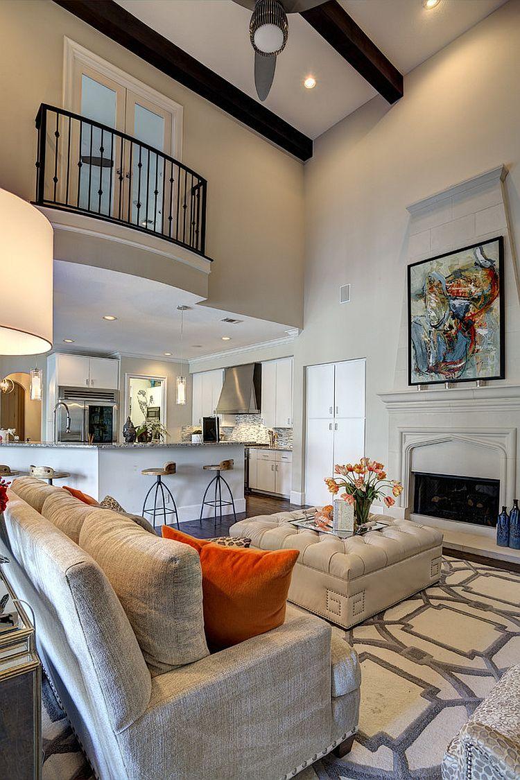 Timeless Mediterranean Living Room Design