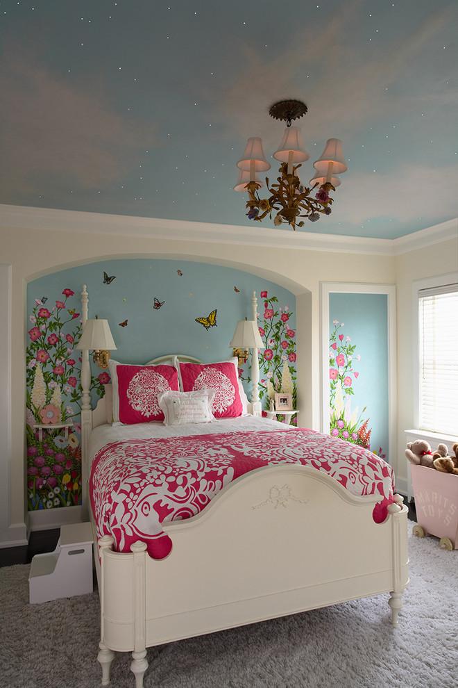 Traditional Southwestern Kids Room Design