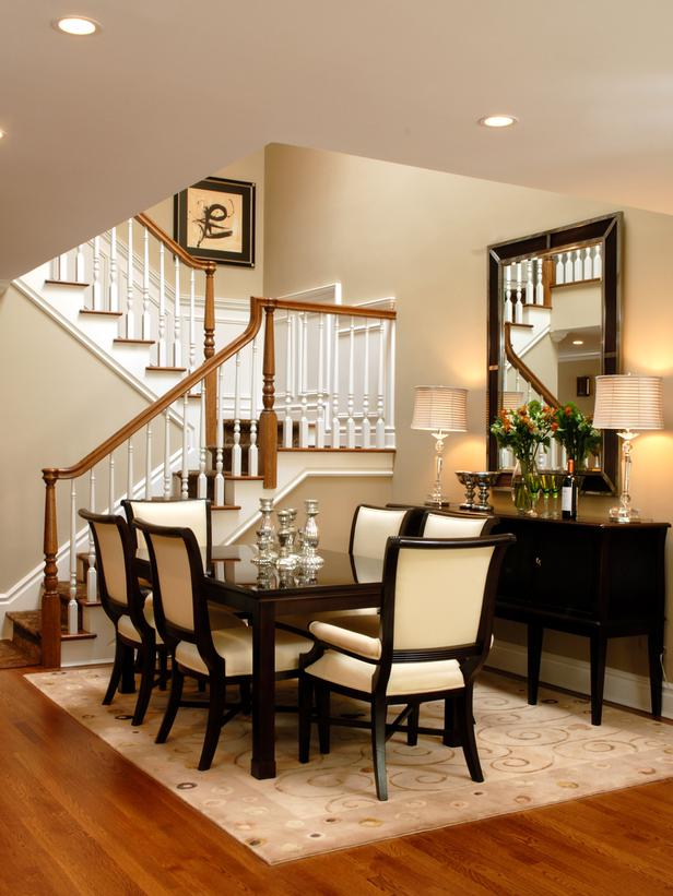 Room Design: 25 Transitional Dining Room Design Ideas