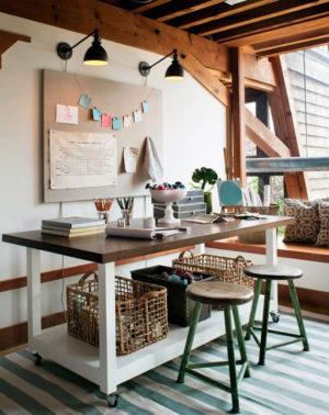 25 Rustic Home Office Design Ideas