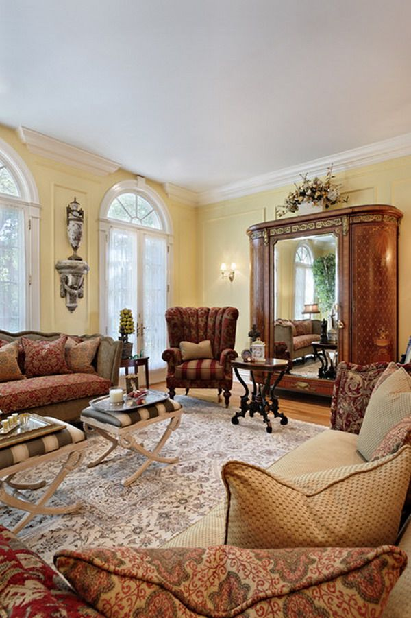 wonderful victorian living room ideas | 25 Victorian Living Room Design Ideas - Decoration Love