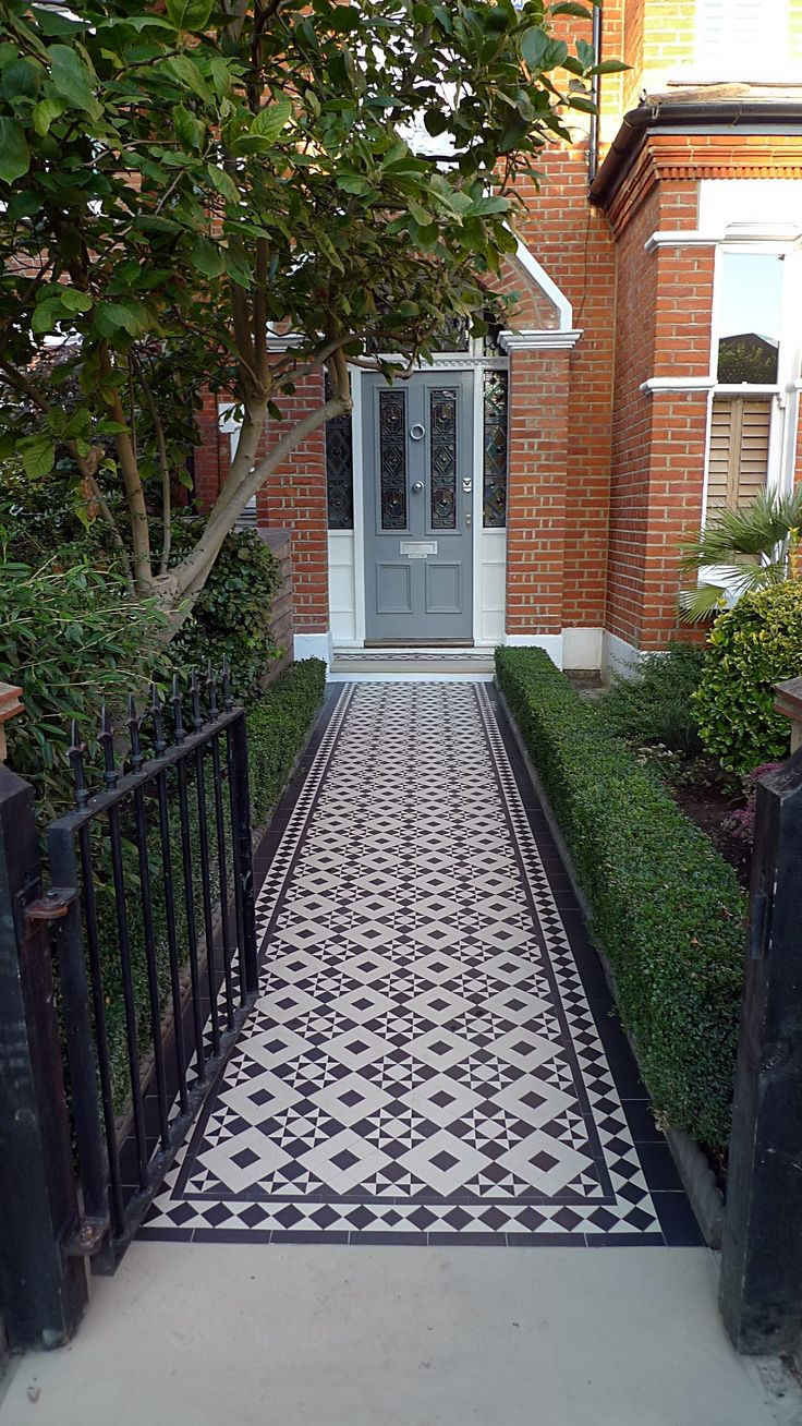 Victorian Outdoor Front Garden Design Ideas
