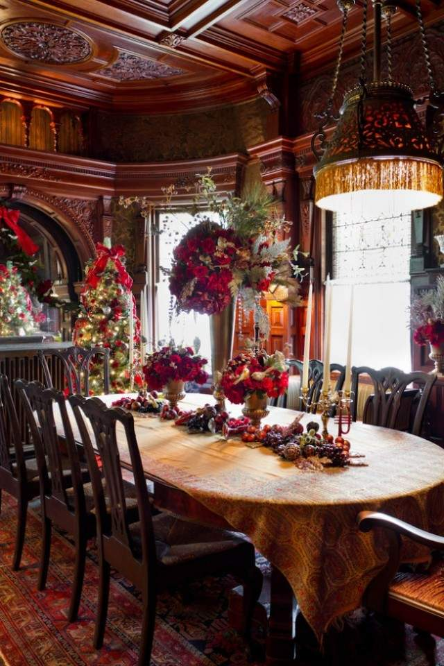 White Victorian Dining Room 2016