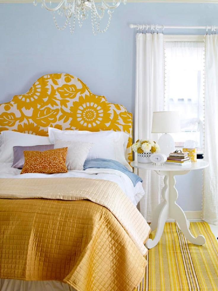 Yellow Modern Bedroom Design