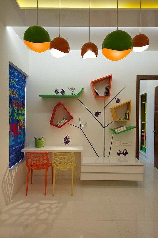 amazing contemporary kids room design idea