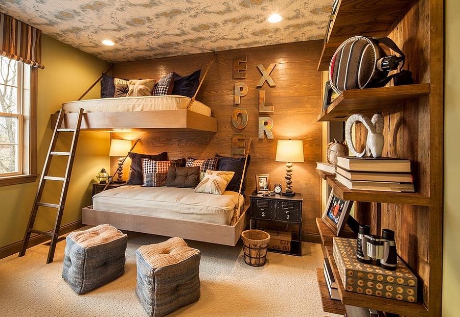 brilliant Rustic Kids Room Design