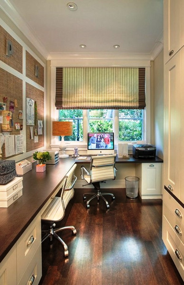 modern women Victorian Home Office Design