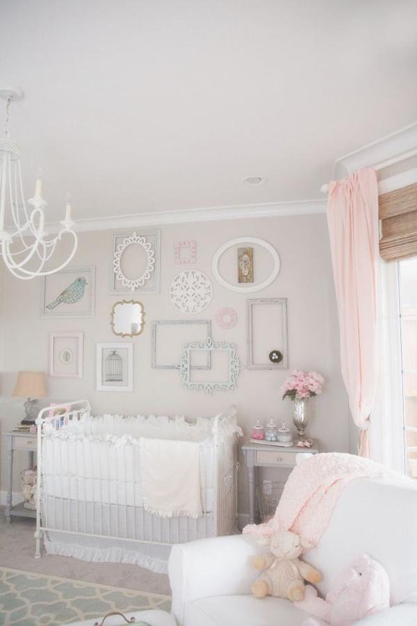 shabby chic nursery room designs