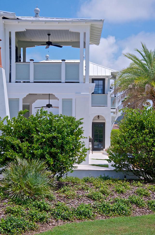 Beach House Tropical Exterior Design