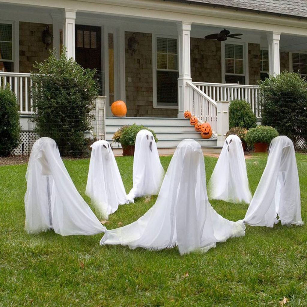 Halloween Outdoor Yard Decorations: Cheap Diy Halloween Outdoor Decorations