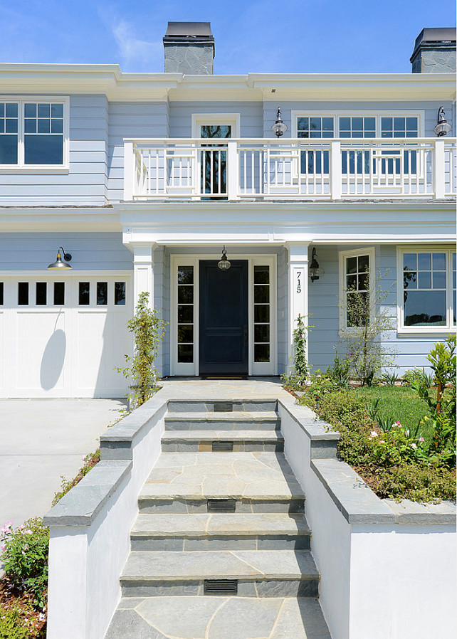 Coastal Transitional Exterior Design