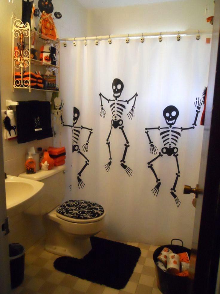 25 Bathroom Halloween Decorations Ideas Decoration Love