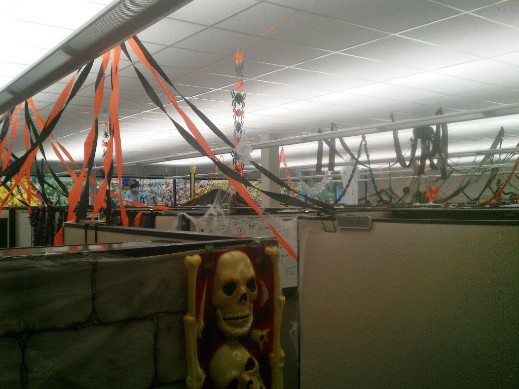 Cool Halloween Decorations for Work