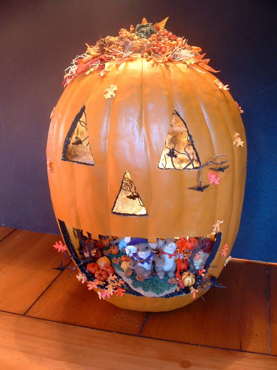 25 Amazing Pumpkin Halloween Decorations Ideas ...