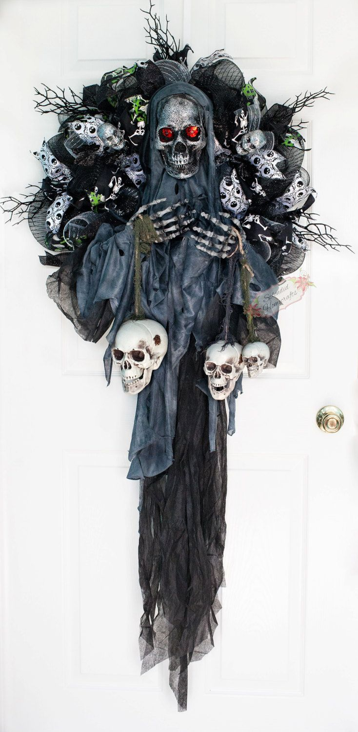 Creepy Gothic Halloween Decorations