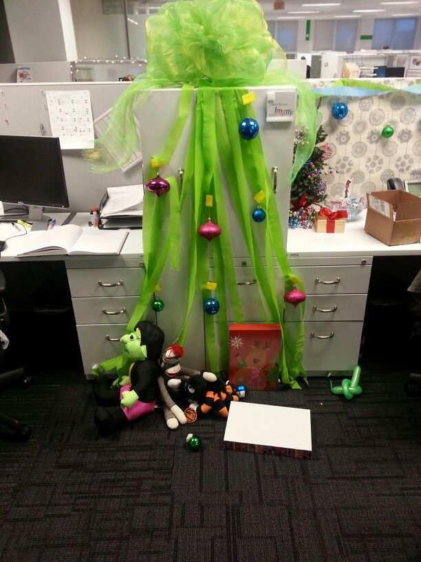 Cube Office Halloween Decorations