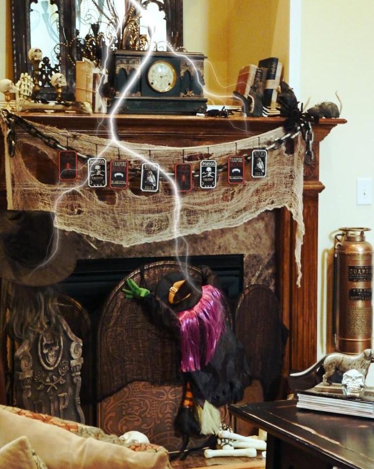 Dollar Tree Gothic Halloween Decorations