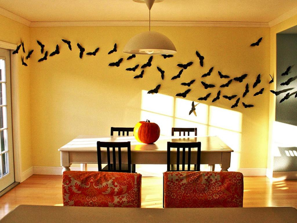 25 bats halloween decorations ideas decoration love for Aviation decoration ideas