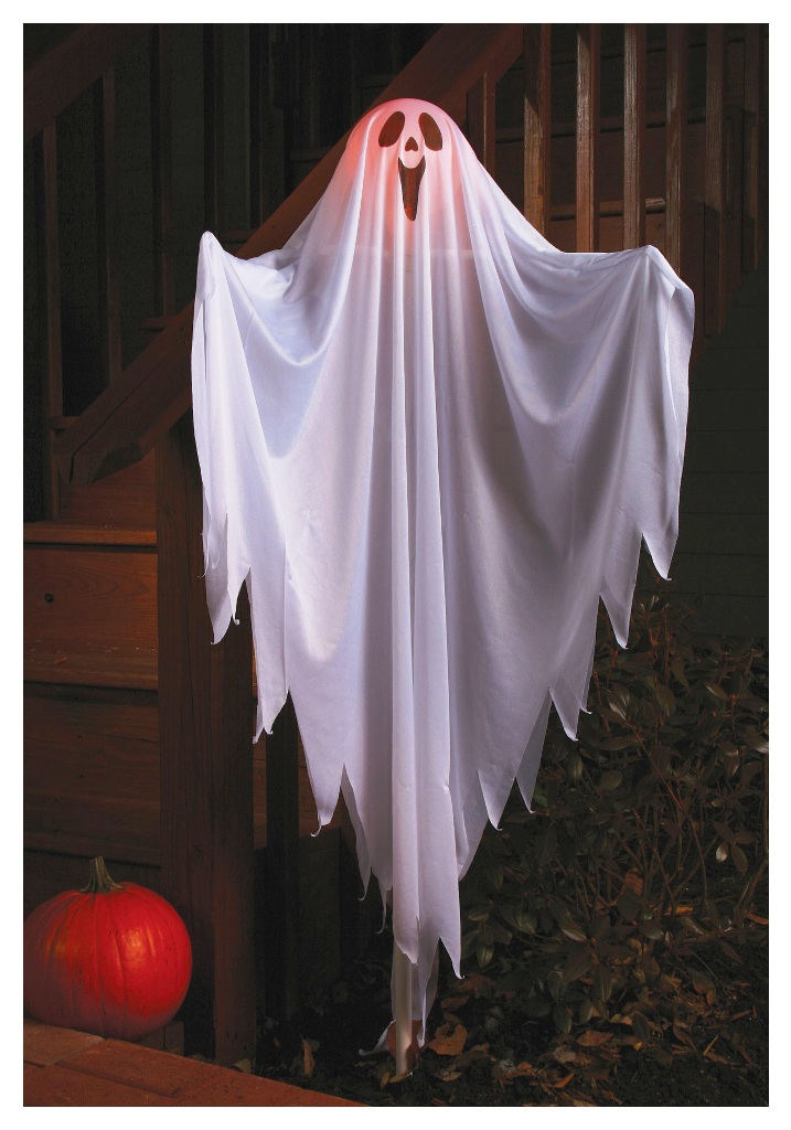 Ghost Halloween Exterior Decorations
