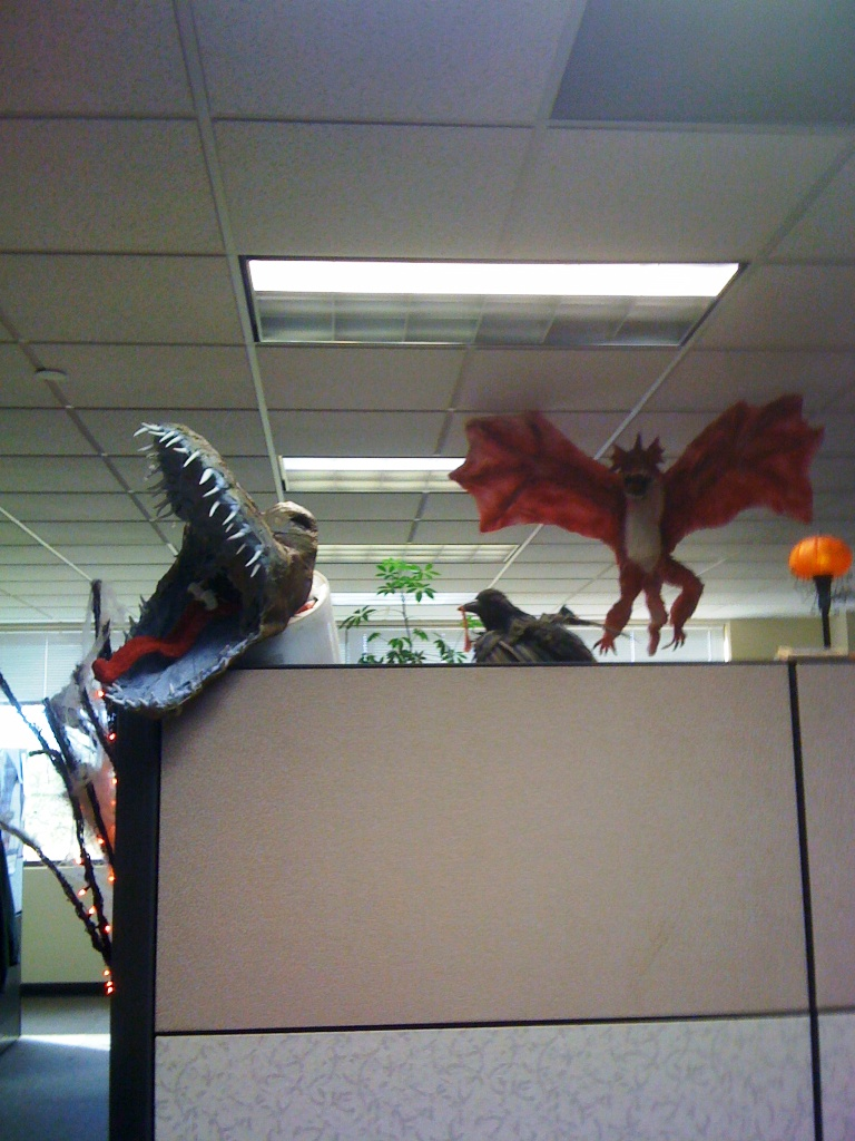 Halloween Cubicle Decorations for Work