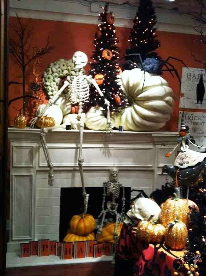 Halloween Fireplace Decorations 2016