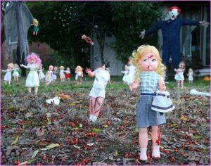 30 Yard Halloween Decorations Ideas